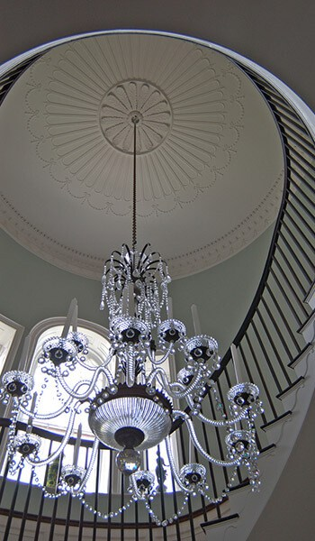Chandelier installation elcon electric large chandelier mozeypictures Choice Image
