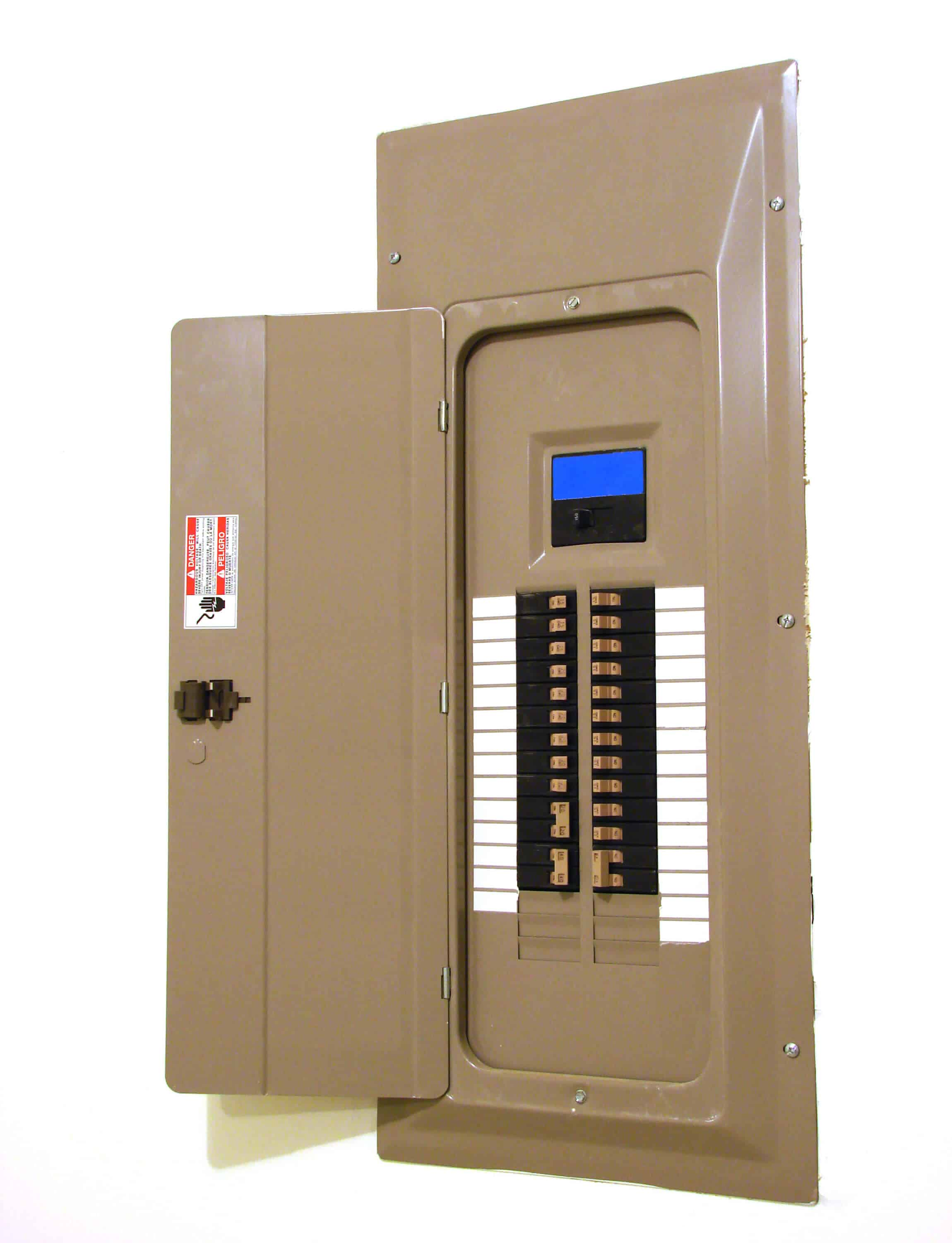 Upgrading the Electric Panel on replacing electrical panel, relocating electrical panel, expanding electrical panel,