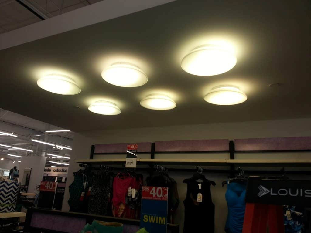 Lighting Installation In Department Elcon Electric