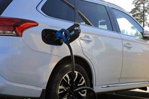 Best dwp option for person owning an electric car