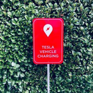 tesla charging at home
